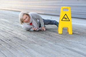 Photo of an Increase in Slip and Fall Accidents