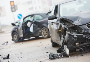 Side-impact crash in Texas
