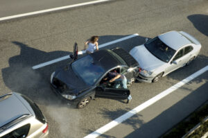 Auto accident in Dallas, TX