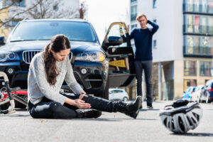 Bicycle accident in Dallas, TX