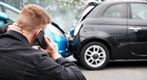 Car accident in Dallas, Texas